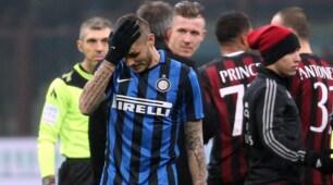 Inter, Icardi segna a tutti tranne che al Milan