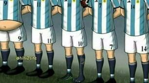 Argentina, ironia social contro Higuain