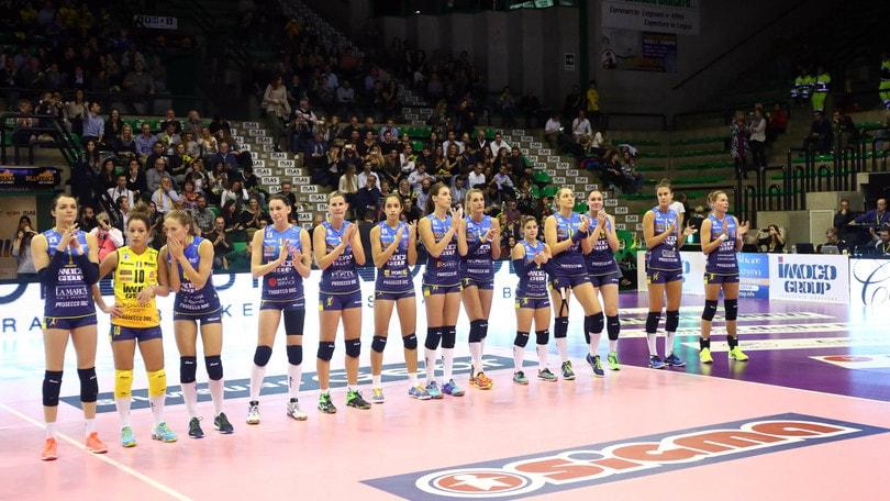 Volley: La Supercoppa Femminile l'8 dicembre al PalaVerde