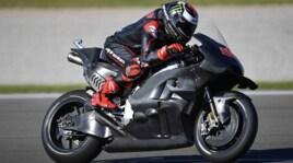 """Lorenzo ama già la """"rossa"""": a Valencia in sella a Ducati"""
