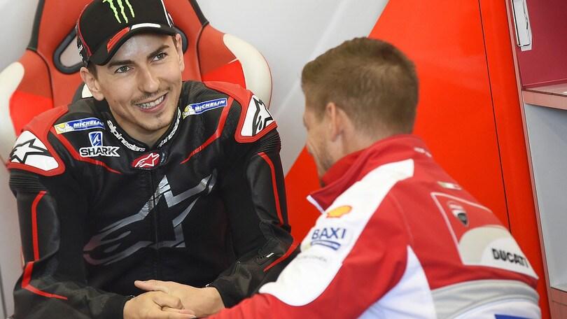 MotoGp Ducati, Tardozzi: «Lorenzo è molto determinato»