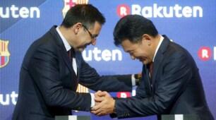 Barcellona, presentato il nuovo sponsor Rakuten