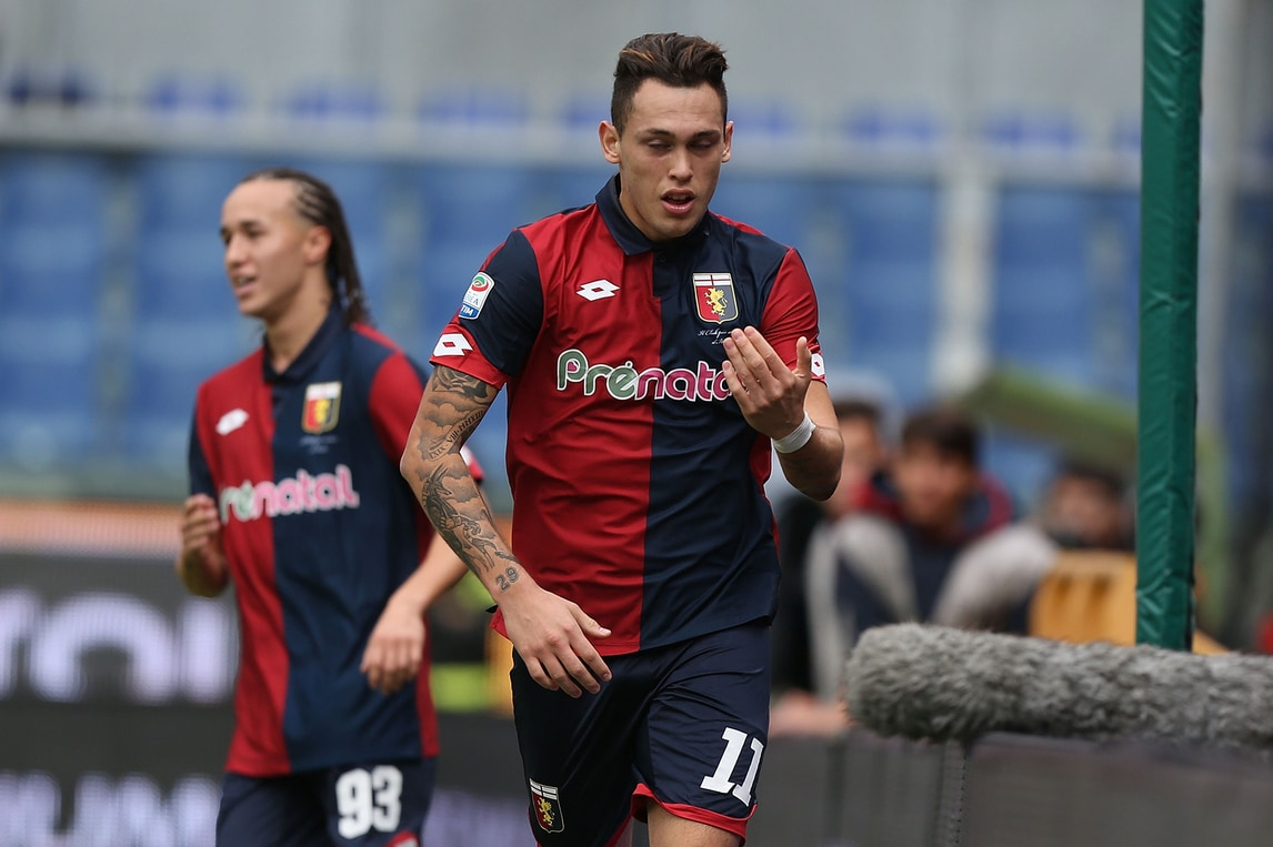 Serie A Genoa, rientra Ocampos: pronto per la Lazio