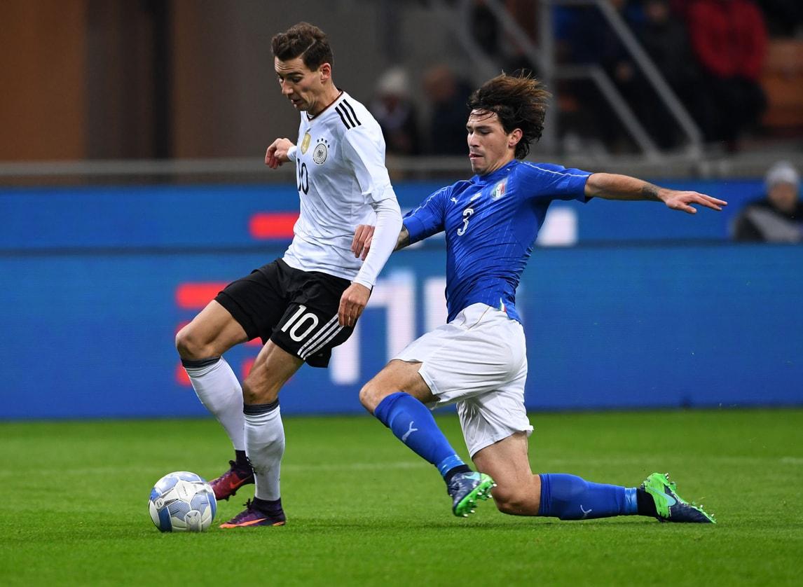 Milan, lieve lesione per Romagnoli: a rischio il derby