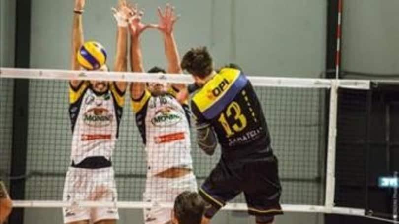 Volley: A2 Maschile Girone Blu Spoleto vince il recupero con la Materdomini.it