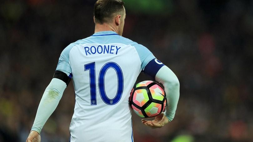 Inghilterra, bufera Rooney: per i bookie rischia la fascia da capitano