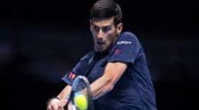 Tennis, Atp Finals: Djokovic batte Goffin in due set