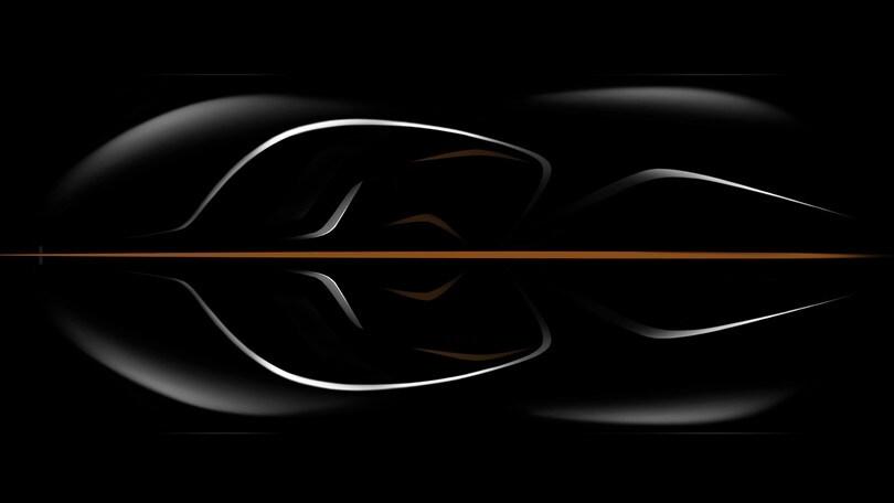 McLaren, torna il mito a tre posti, annunciata la supercar BP23