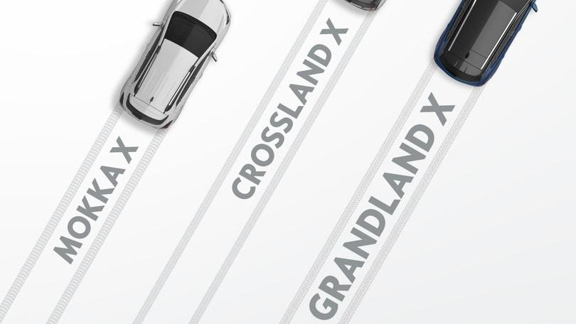 Opel Grandland X, nel 2017 scatta l'ora dei crossover