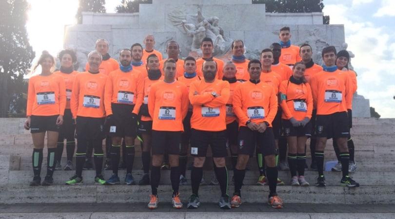 We Run Rome 2016, ci sono anche gli arbitri dell'AIA