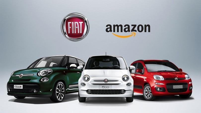 Fiat e Amazon insieme, 500 e Panda scontate fino al 33%