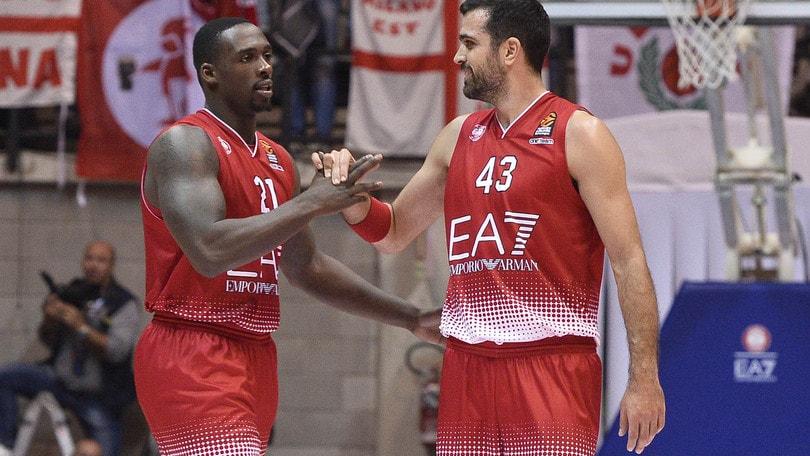 Basket, Serie A: Milano avanti con Cremona