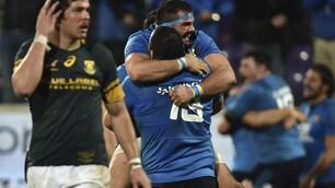 Rugby, Italia-Sudafrica 20-18: le immagini del match