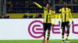 Bundesliga, il Borussia batte il Bayern: decide Aubameyang