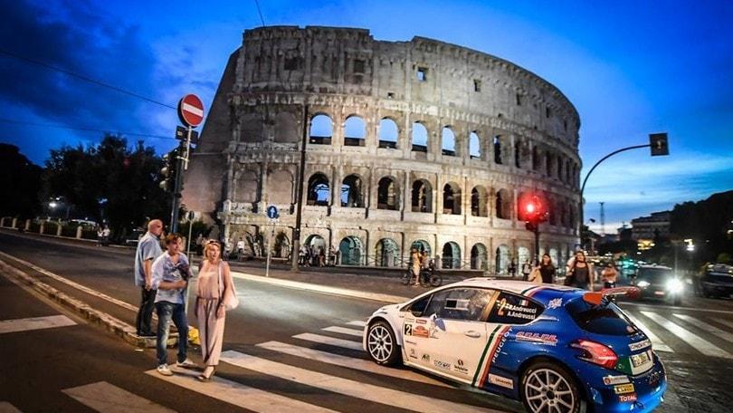 Il Rally di Roma tappa del Campionato Europeo 2017