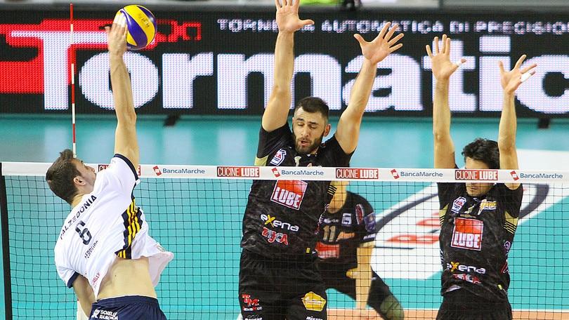 Volley: Superlega, Modena ferma Trento, Civitanova torna in testa
