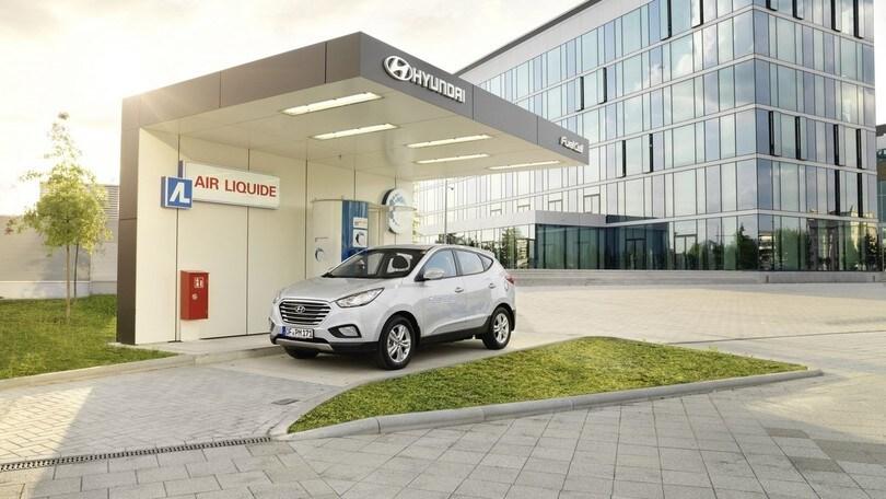 Hyundai apre una stazione per il rifornimento di idrogeno