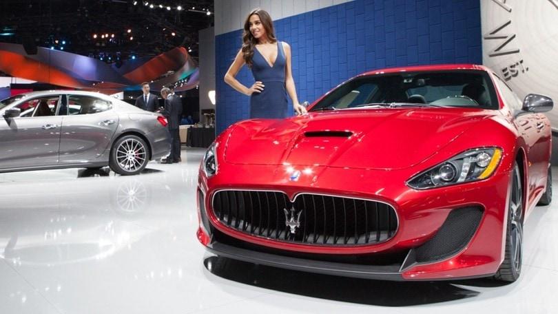 Maserati Quattroporte GranSport al Salone di Los Angeles