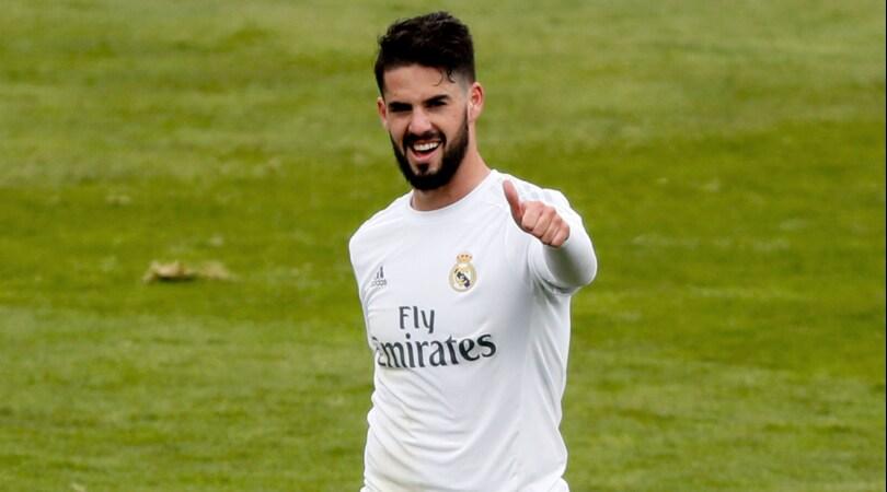 Real Madrid, avviate le trattative per il rinnovo di Isco