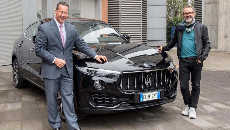 Lo chef Massimo Bottura ancora con Maserati