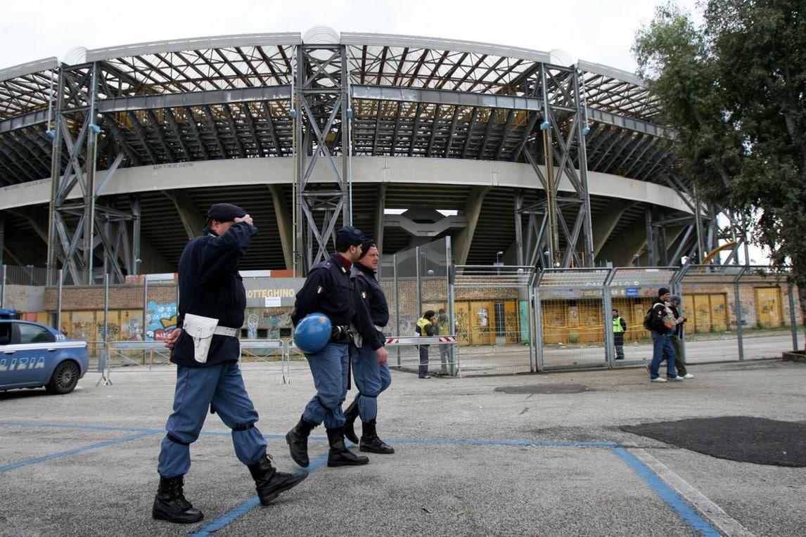 Napoli-Dinamo Kiev, accoltellati due tifosi ucraini