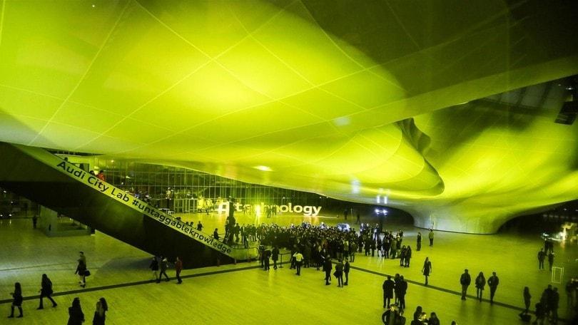 Audi City Lab debutta alla Nuvola di Roma
