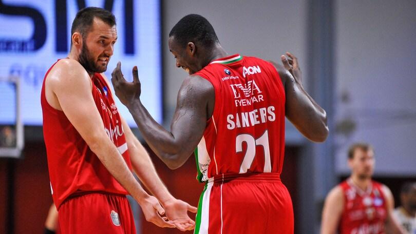 Basket, Eurolega: Milano sfavorita a 2,08 contro Datome