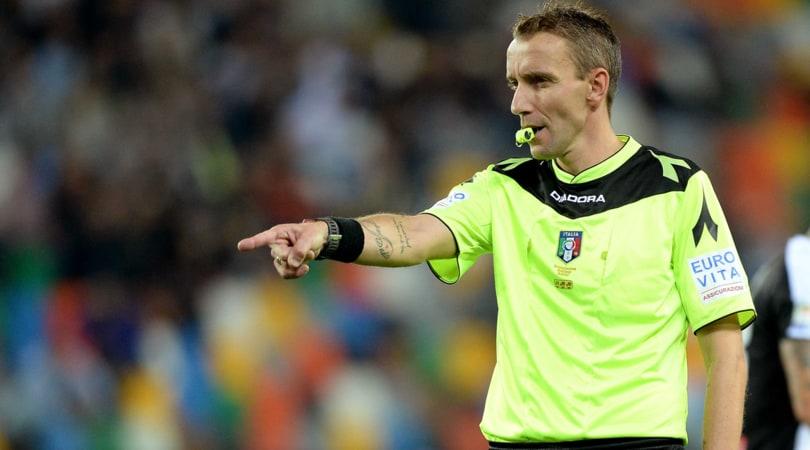 Moviola Serie A: Irrati, ok il rigore su Perotti. Mazzoleni male a Genova