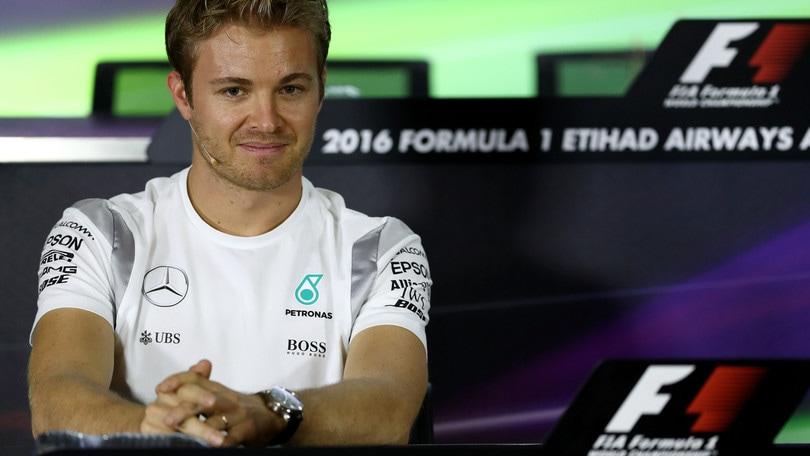 F1, Rosberg: «Sono emozionato»