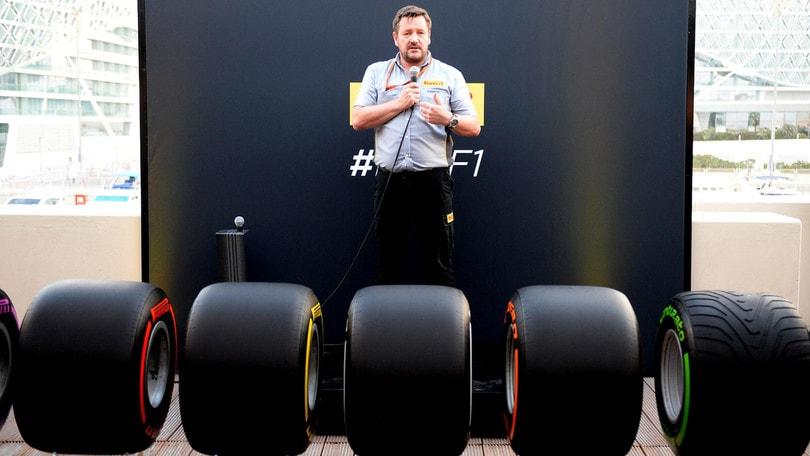 F1, Pirelli: «Con gomme 2017 più facile attaccare»