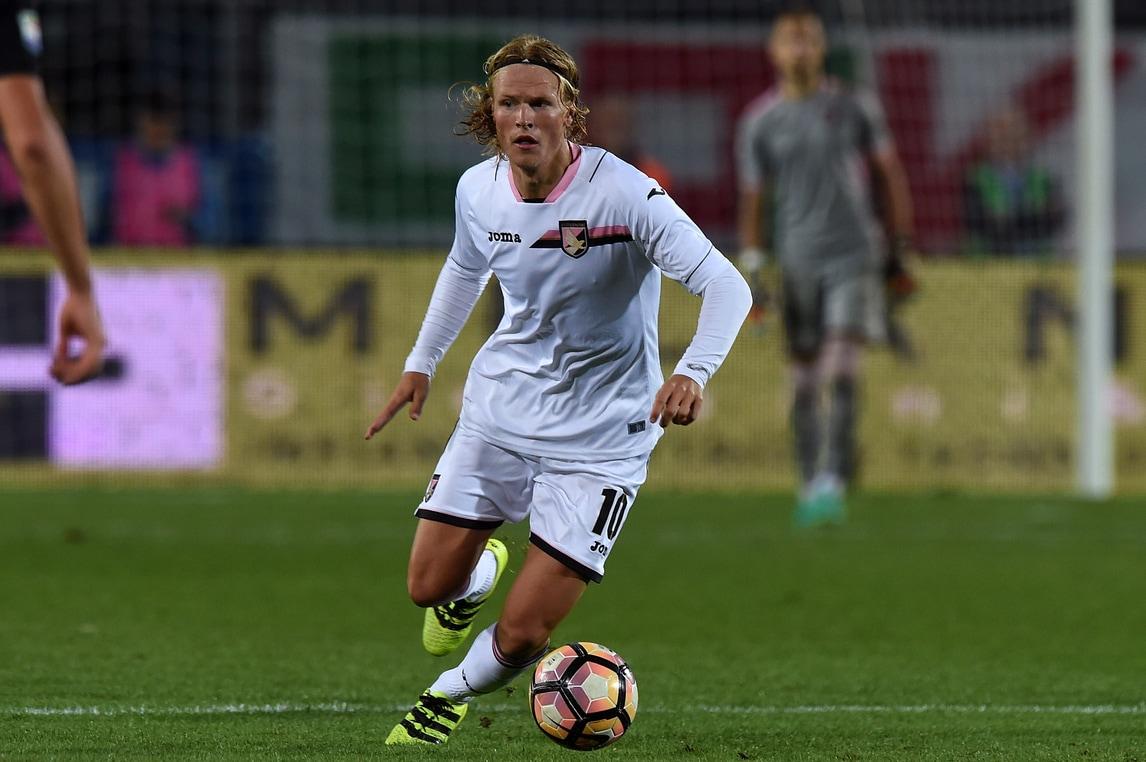 Serie A Palermo, De Zerbi recupera Hiljemark per la Lazio