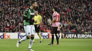 Athletic Bilbao-Sassuolo 3-2: non bastano i due gol