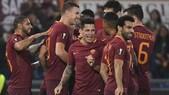 Europa League, Roma-Viktoria Plzen 4-1: Tripletta Dzeko. Perotti, che rabona!