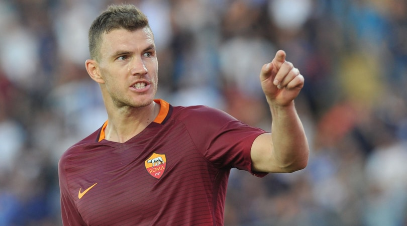 Re Dzeko si prende Roma: i tifosi sognano con i suoi gol