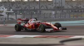 Formula1: le ultime prove libere del Mondiale, le immagini spettacolari del tramonto di Abu Dhabi