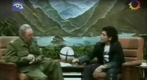 L'intervista di Maradona a Fidel Castro