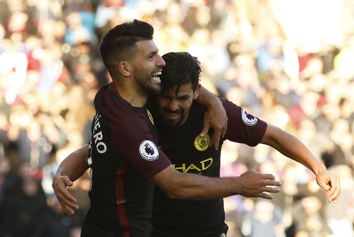 Premier, Burnley-Manchester City 1-2: Guardiola primo in classifica