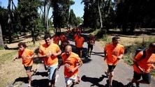 Running, il Colosseo illuminato di blu per la Run for Autism