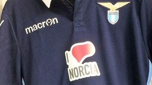 Lazio, a Palermo con una maglia speciale: I love Norcia