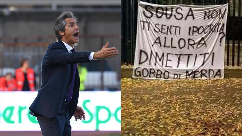 Fiorentina, Sousa risponde ai tifosi: «Voglio rendervi orgogliosi»