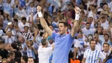 Coppa Davis, Del Potro batte Cilic. Croazia e Argentina sul 2-2