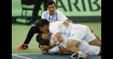 L'Argentina vince la Coppa Davis, decisivo Delbonis