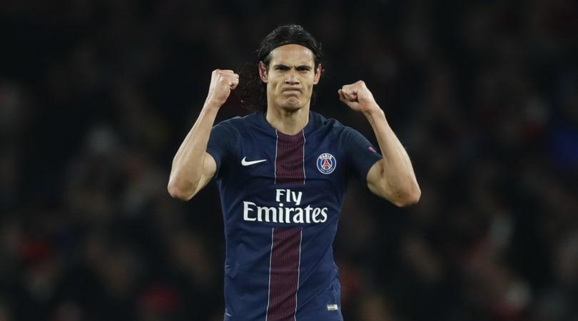 Ligue 1, Cavani trascina il Psg: 2-1 al Lione