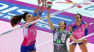 Volley: A1 Femminile, Bergamo soffre ma mantiene il primato