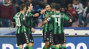 Serie A, Defrel ferma il Napoli: col Sassuolo è 1-1