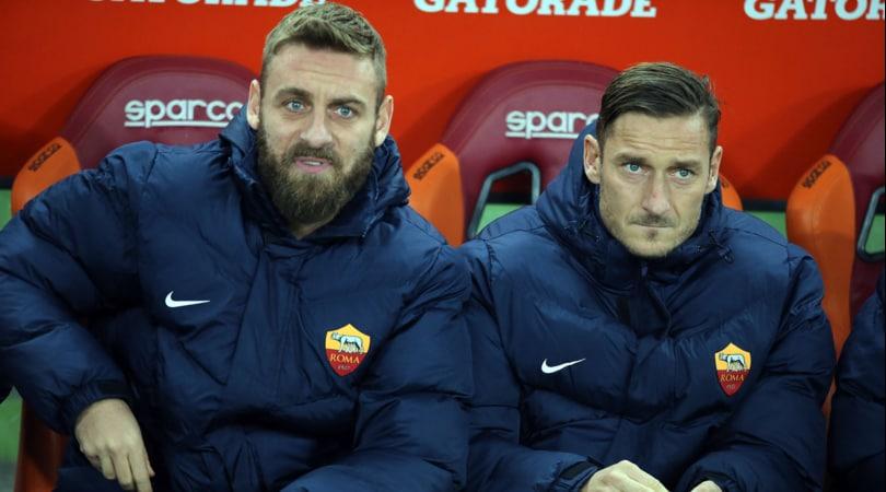 Roma, i tre capitani dagli ultrà: