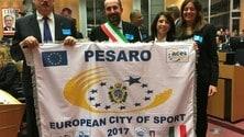 """Volley: La myCicero alle celebrazioni per """"Pesaro Città Europea dello Sport 2017"""""""