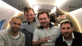 «Anche l'Argentina di Messi viaggiò nell'aereo precipitato in Colombia»