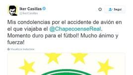 Il calcio si stringe attorno alla Chapecoense