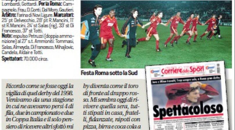 Capitan Totti firma una rimonta super